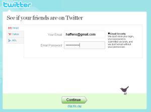 Pilihan mau langsung di jawab balasan e-mail dari twitternya atau nanti aja..