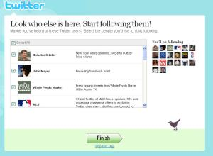 Halam depan Twitter kita